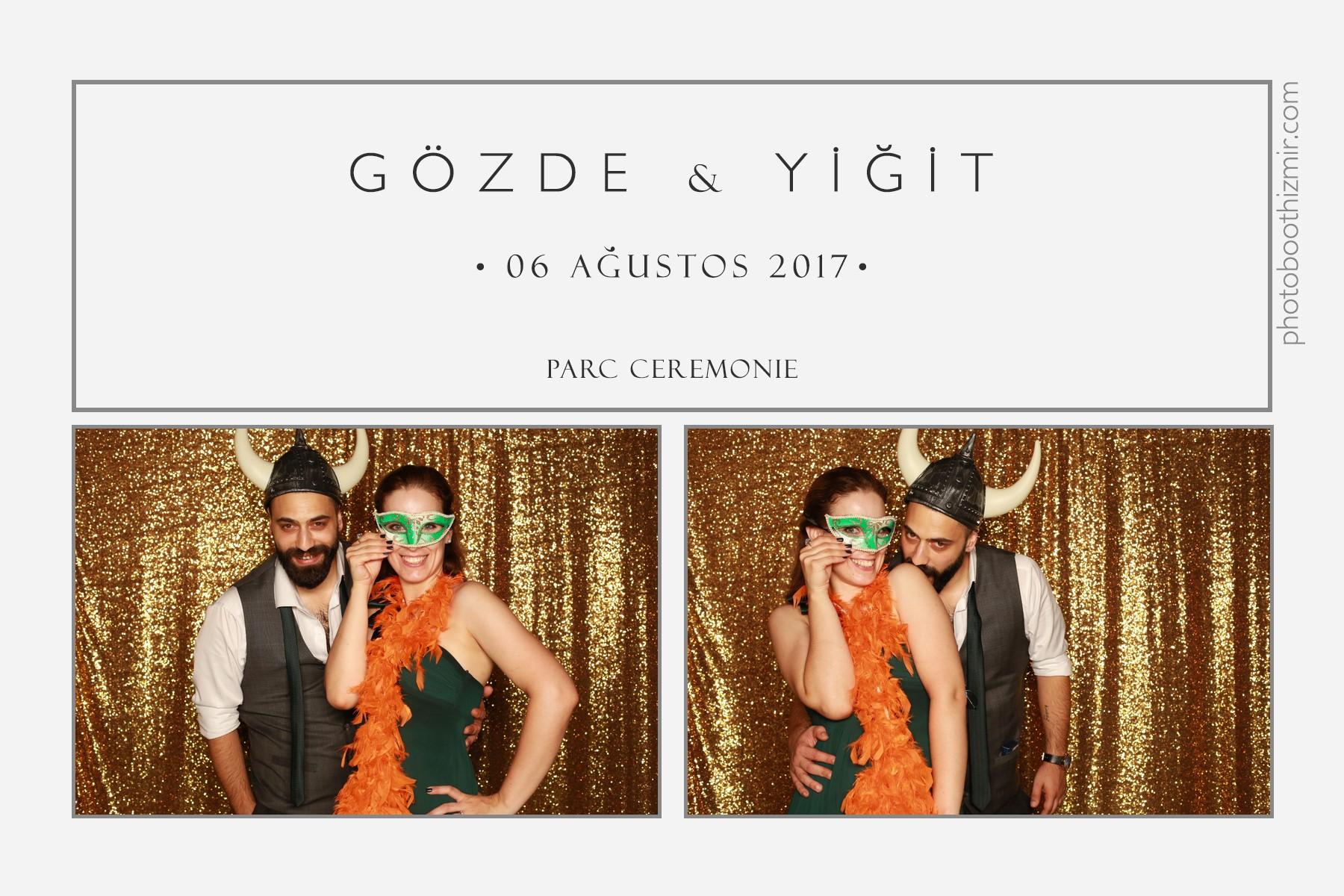 Gözde + Yiğit - Parc Ceremonie